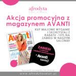 Akcja promocyjna z magazynem Avanti